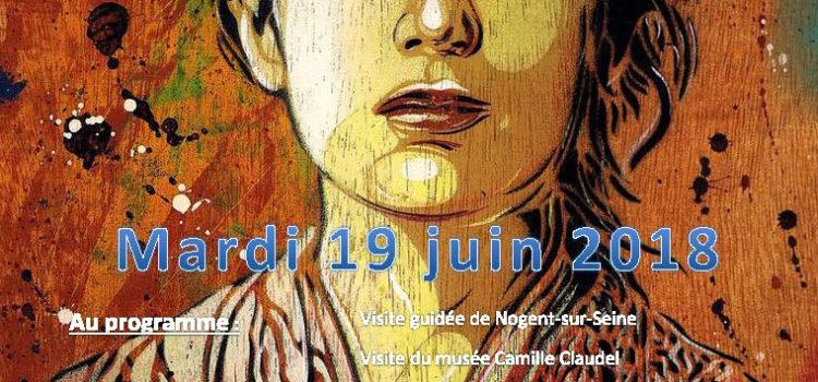 Sortie culturelle à Nogent-sur-Seine