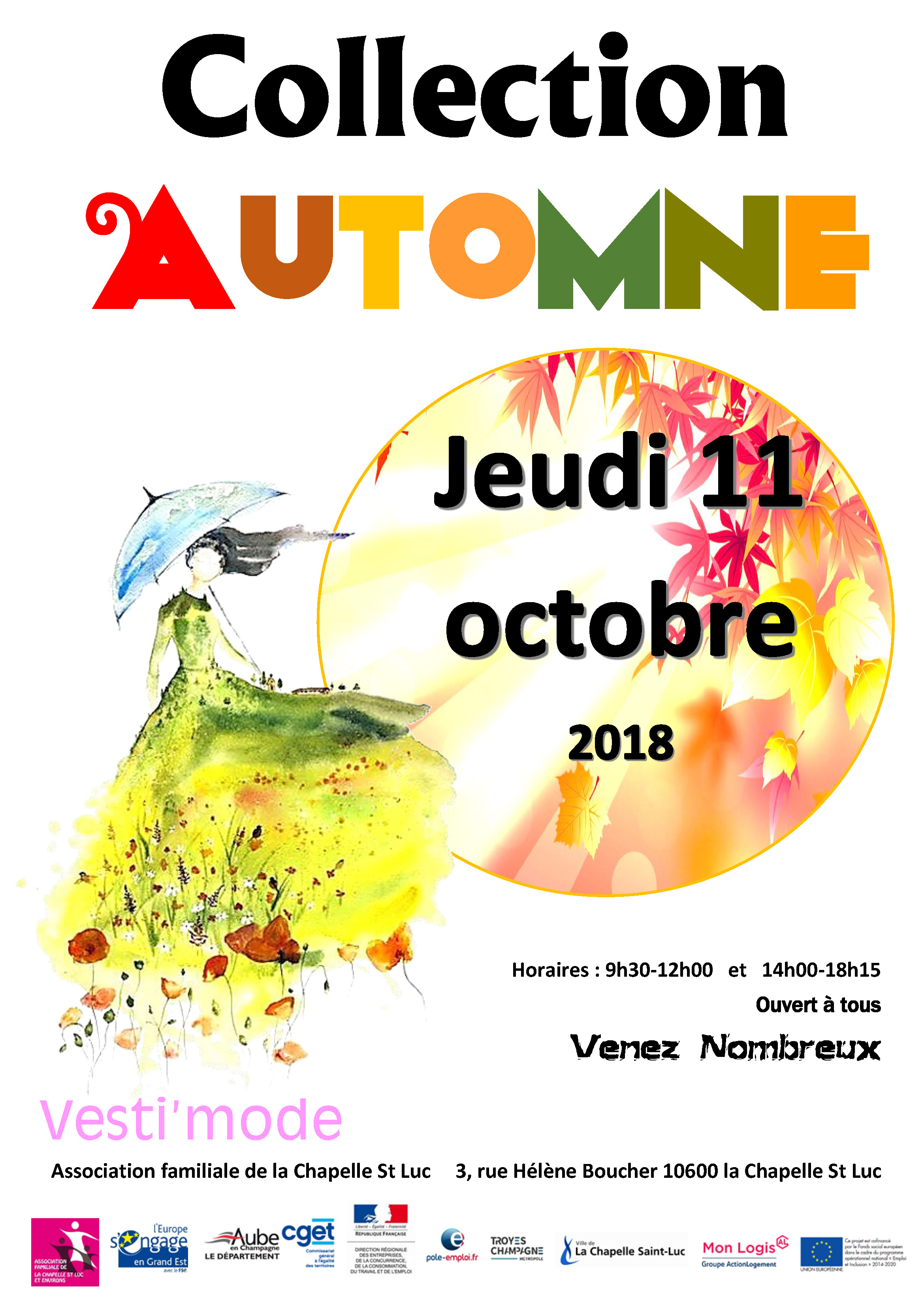 Affiche collection autonme