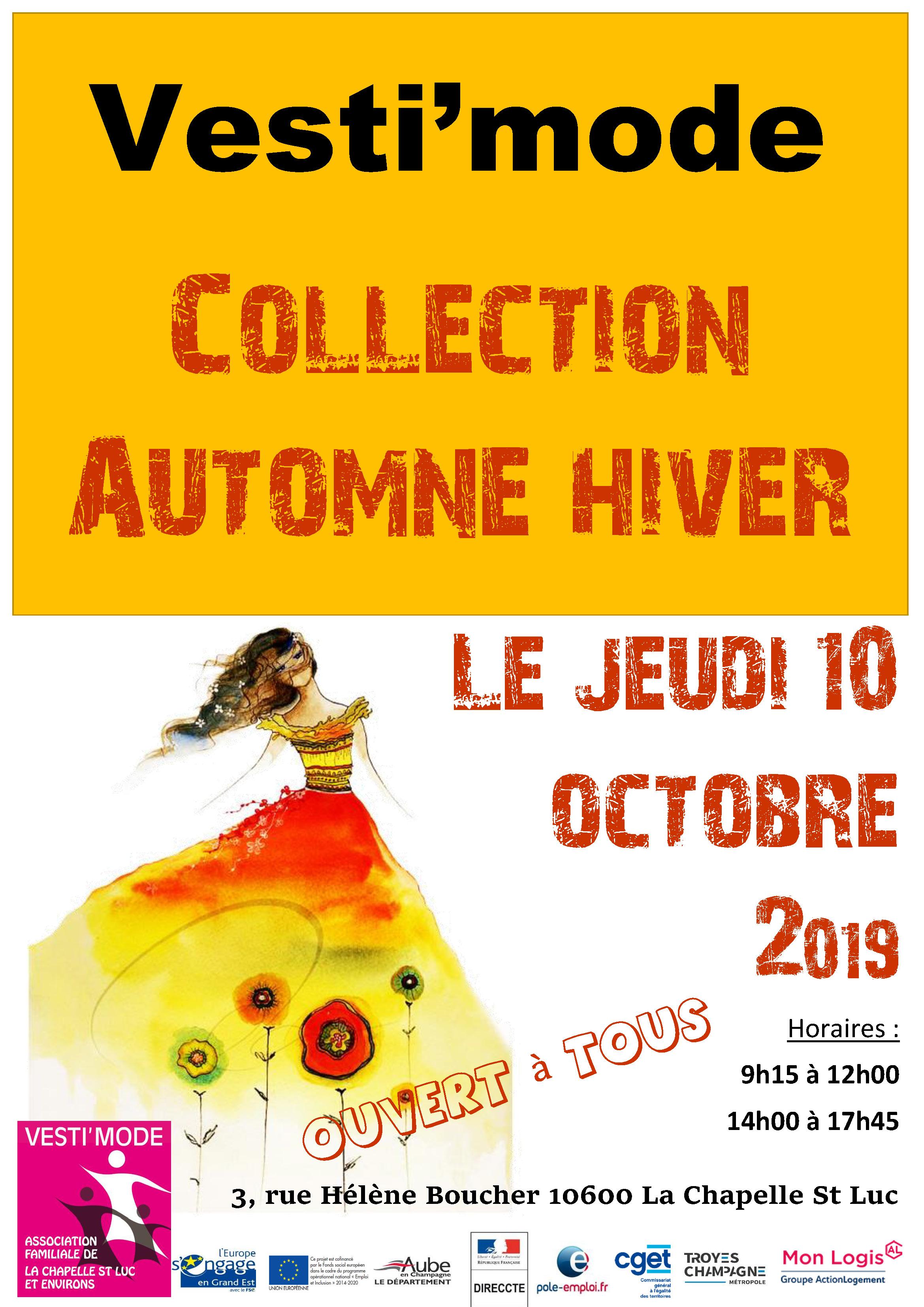 vente collection automne hiver