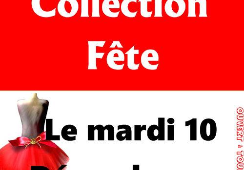 Vente spéciale Collection Fête