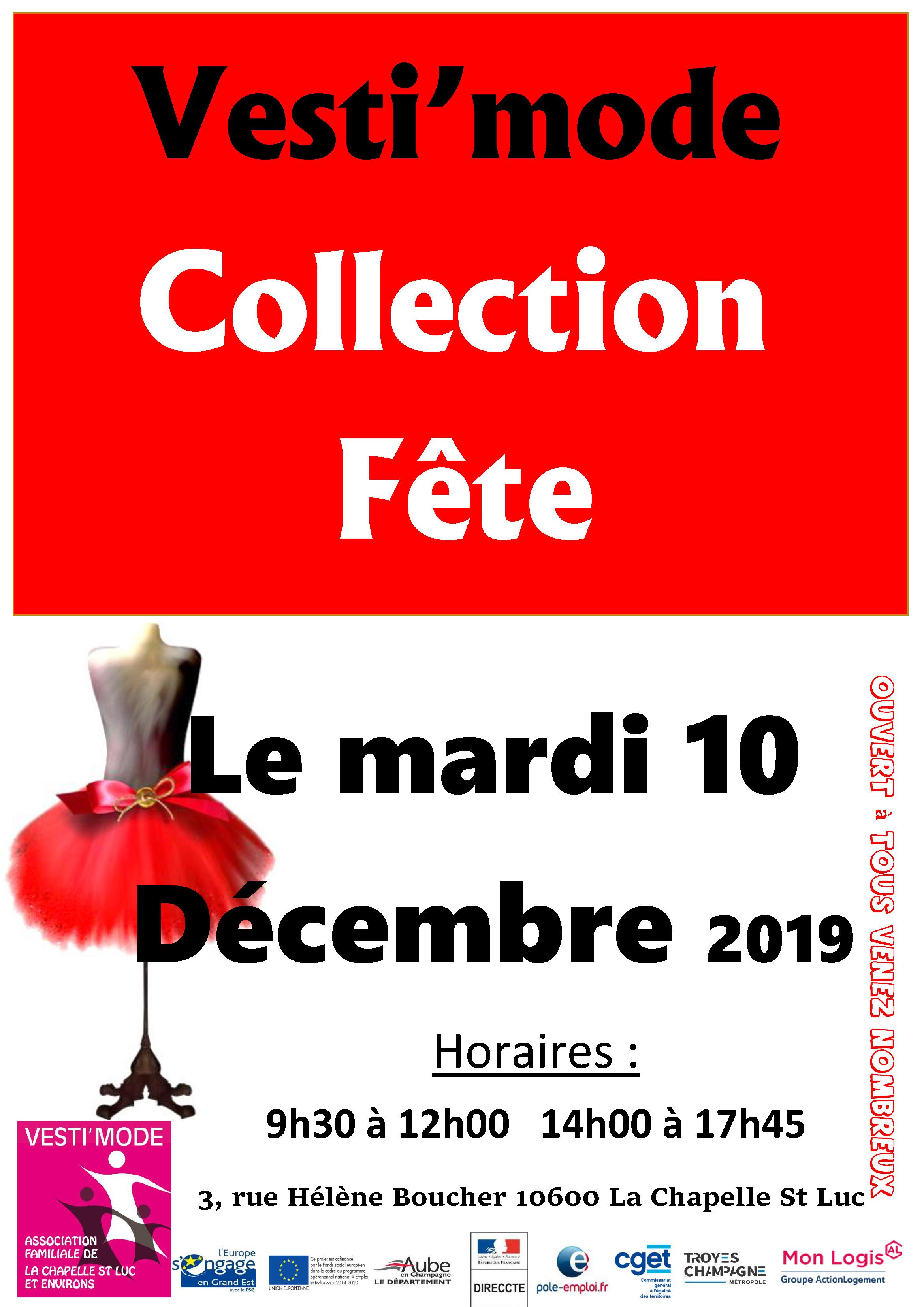 affiche fête vestiaire 2019