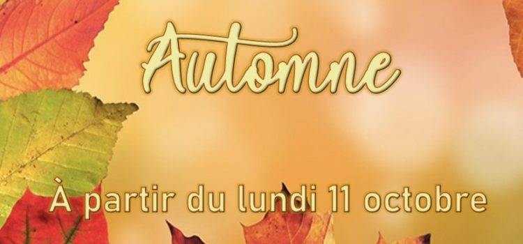 La nouvelle collection automne arrive chez Vesti'Mode